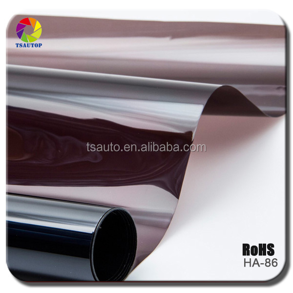 TSAUTOP hot sale film to protect the glass static window film for car removable HA86