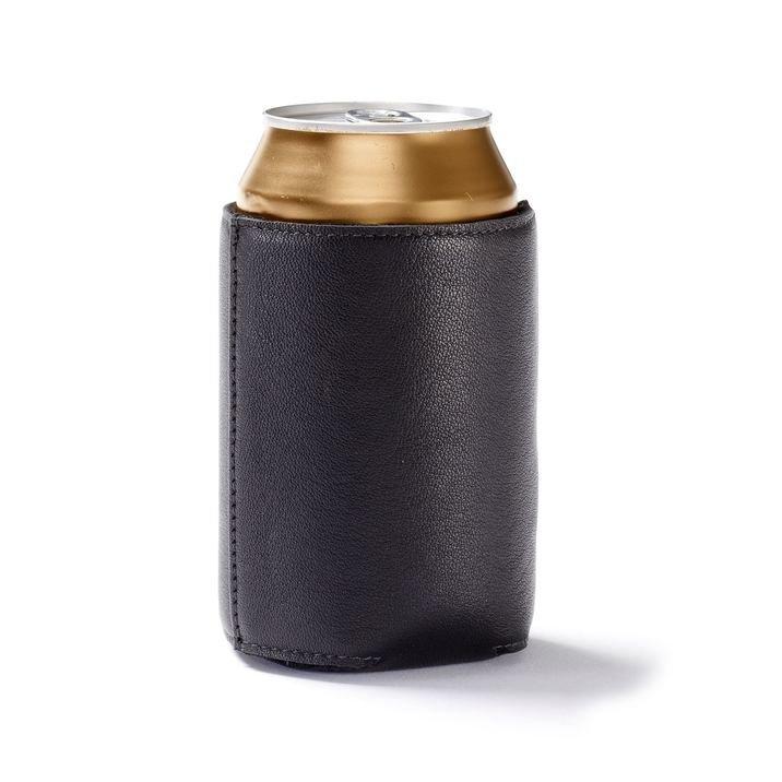 فاخر مخصص Ggenuine جلدية البيرة يمكن برودة ، حامل البيرة ، البيرة زجاجة برودة كم