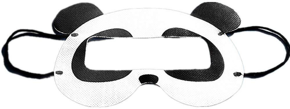Beracah Universal VR Disposable Sanitary Eye Mask for Virtual Reality Headset Panda