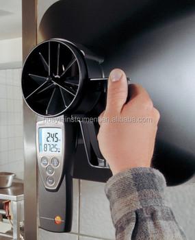 Air Flow Meter Testo 417 Rotating Vane Anemometer,Testo 417 ...