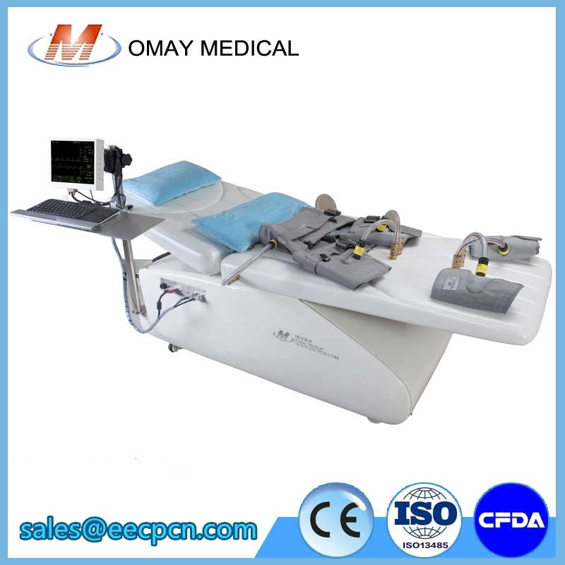 Portable EECPS machine Non-invasive for blocked arteries treatment