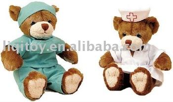 Medico E Infermiere Teddy Orso Peluche - Buy Medico E Infermiere
