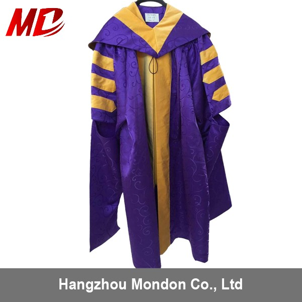 Dark Crinkles Doctoral Student Academic Gown Adult Size Graduation ...