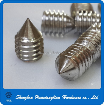 Good China Hardware Fasteners Custom Size Self Tapping Set Screw For Door Handle