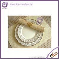 k3501 wholesale ceramic plate cheap white porcelain plates serving dishes