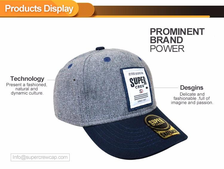 e6af464451a Fashion 5 Panel Manufacturer Wholesale Custom Design Embroidered Logo  Fitted Sports Men Baseball Cap Hats