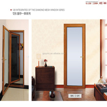 aluminum panel room glass door shipping china to malaysia