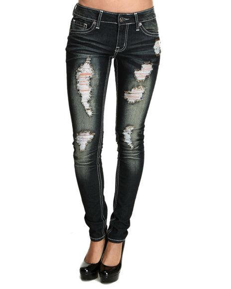 Ripped Jeans Plus Size Women - Xtellar Jeans