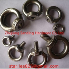 M64 For ship Stainless steel eye NUT /eye bolts