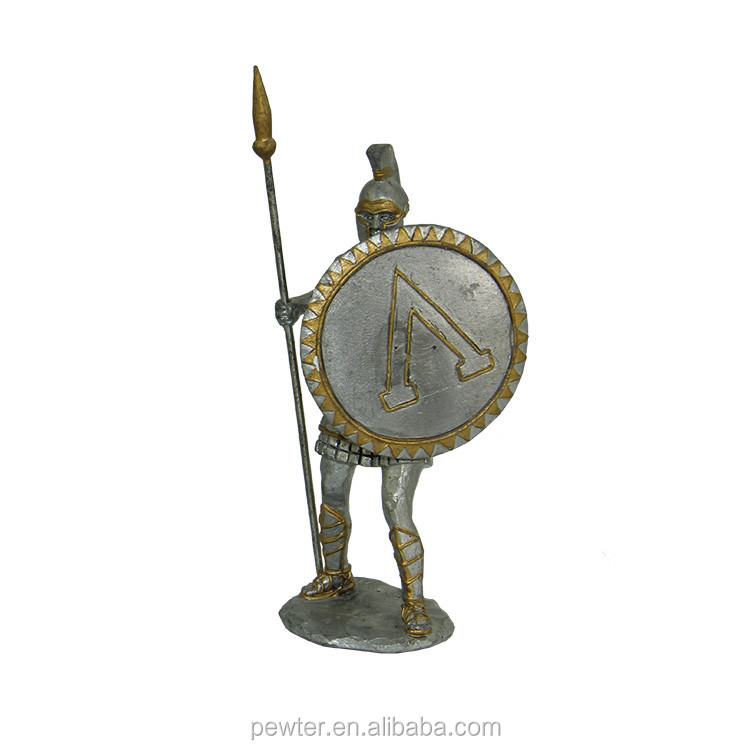 antique roman warrior statue