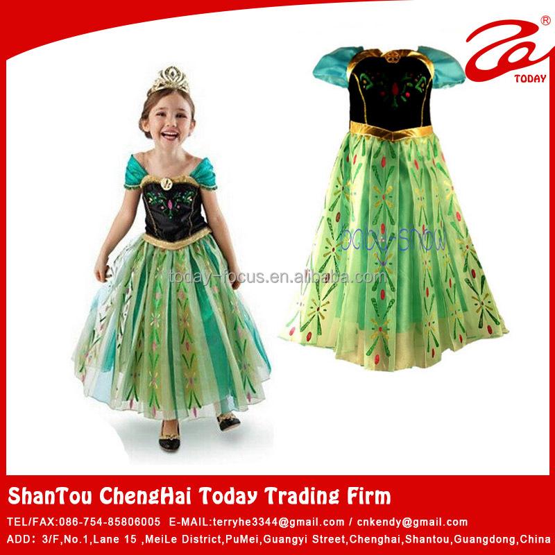 Frozen Kids S Dresses Beautiful Model