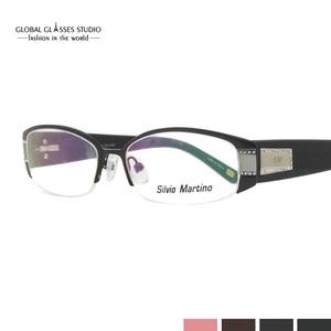 71cf5480bffd Latest Fashion Luxury Brand Frames Unisex Stainless Steel Metal Eyeglasses  Optical Frames Eyewear SM4023