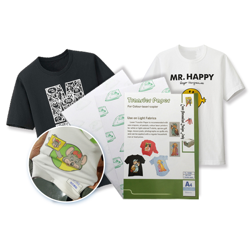 4d879dcc Factory direct wholesale t shirt heat printing paper self weeding transfer  paper