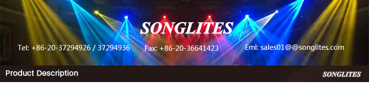 stage moving par led energy saving for architectural lighting Songlites-1