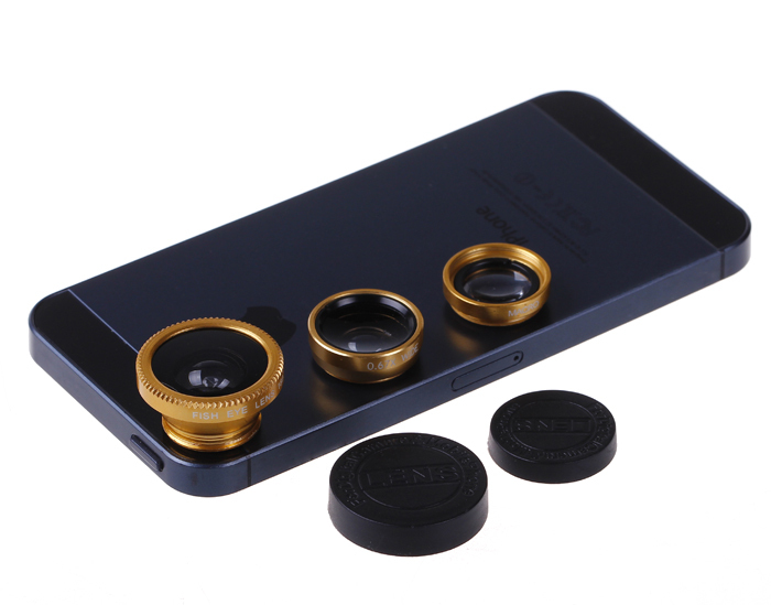 27465787431 Get Quotations · Universal 3 in 1 Fish Eye Wide Angle Macro Fisheye Mobile  Phone Lens For iPhone 6