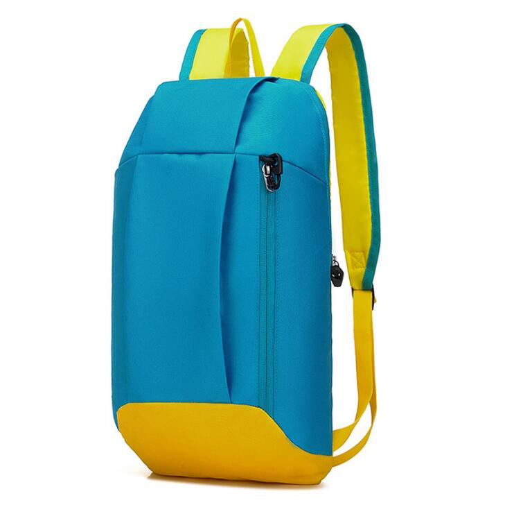 Fashion Design Polyester Small Backpack and Promotional School Bag for Children