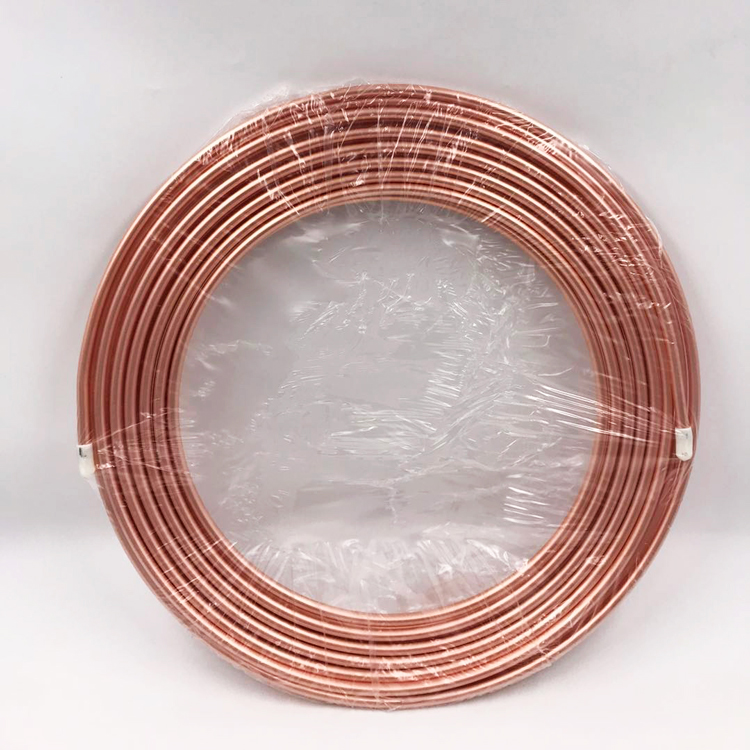 1M 3.5mm Dia Copper Tone Refrigeration Capillary Pipe Tubing Coil  refrigeration