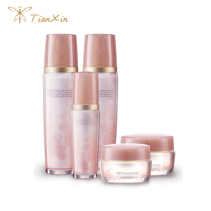 women use rose gold bottle oriflame whitening lotion