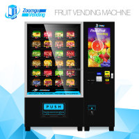 ODM OEM vegetable fruit salad vending machine with elevator