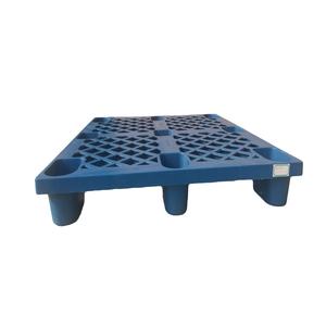 Four Way entry Nine Feet plastic single side pallet For Warehousing