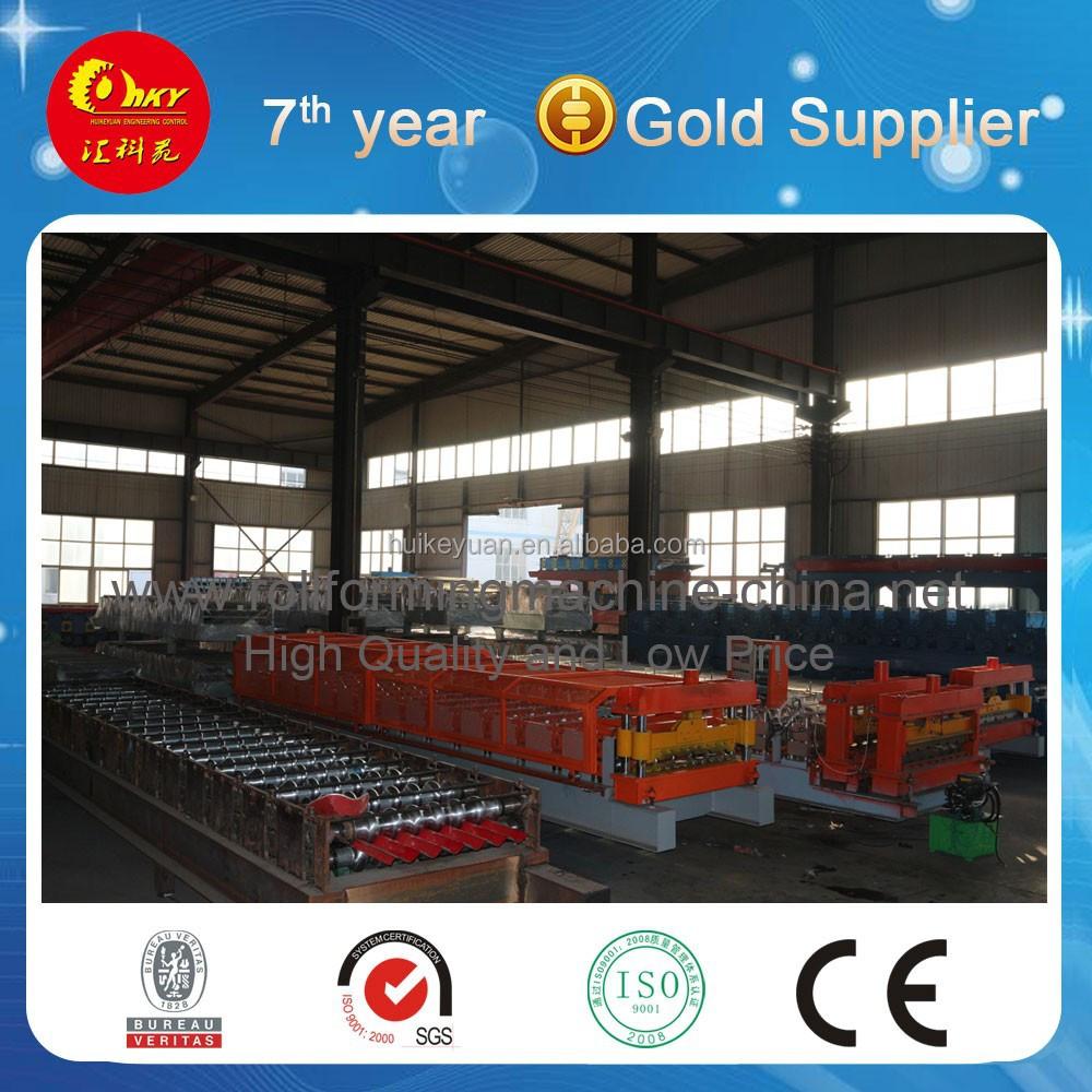Arc Trapez Tile Type Roll Machinery,Steel Truss Line