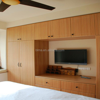 Dressing Room Wardrobe Cabinet With Tv
