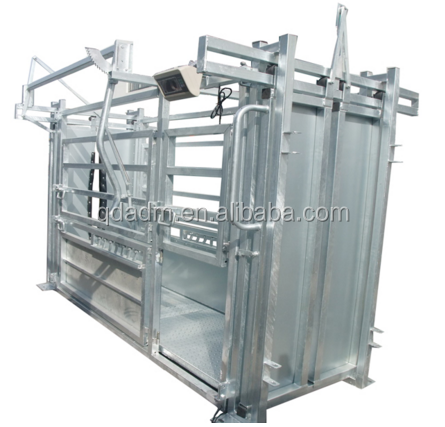 Light Duty Cattle Squeeze Chute Crush Without Weighing