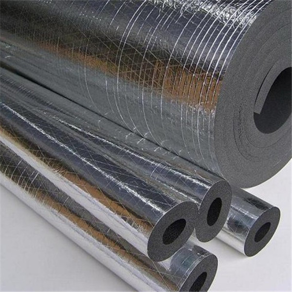 Water proof rubber foam insulation sheet with foil paper for Moisture resistant insulation