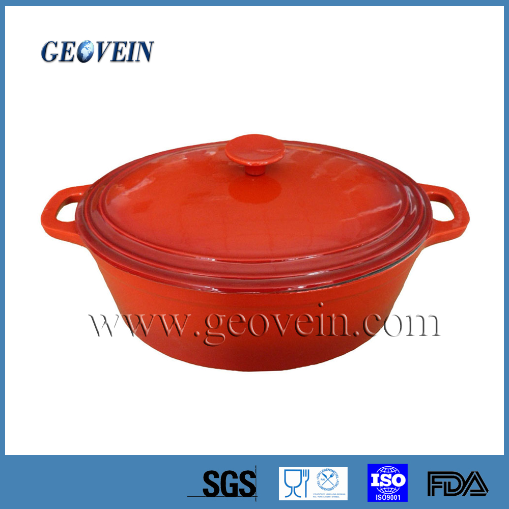 Enamel Cast Iron Casserole Clay Pots Japanese Cookware