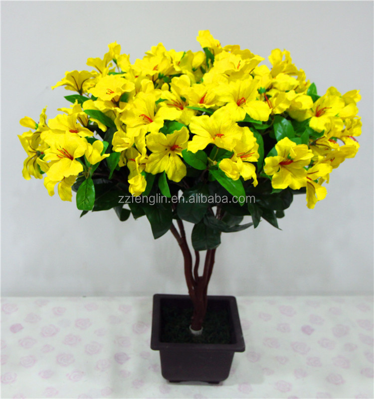 Factory silk yellow artificial impatiens bush marking artificial factory silk yellow artificial impatiens bush marking artificial flowers crafts for home decor mightylinksfo Gallery
