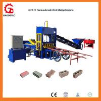 2016 best quality price QT4-15C cement concrete paving curbstone brick making machine for sale