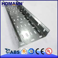 Hdmann Good Quality Cheap Price OEM Support Perforated Steel High Silicon Cable Tray