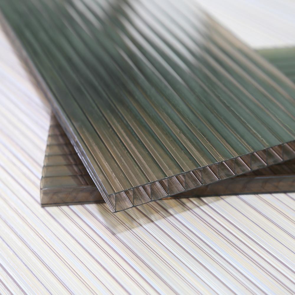 Bas prix feuille de pc ondul feuille de polycarbonate for Feuille de zinc prix
