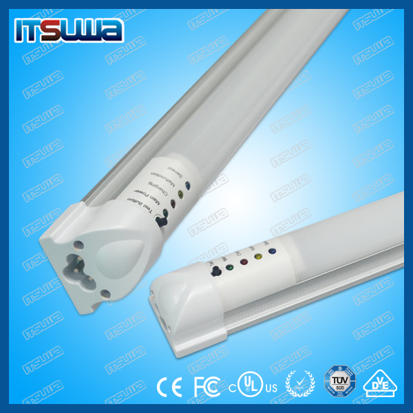 5w 300mm Double Ended Emergency Lamp Ce Led Tube T5 Lamp Battery ...