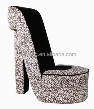 Merveilleux High Heel Shoes Chair/high Shoes Chair/coffee Shop Shoes Chair/designer  Lounge