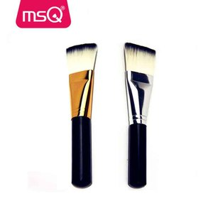 MSQ single makeup brush facial mask brushes wooden handle makeup brush