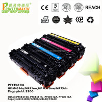 Printer Consumanles Compatible Color Toner Cartridge FOR USE IN HP M451dn/M451nw,HP M375nw/M475dn (PTCE410A)