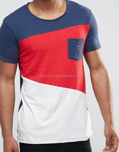 Colour Block Cut & Sew T-Shirt