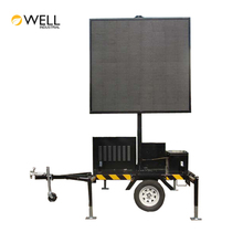 Wholesale China Trade Mobile Solar Mobile VMS Trailer with LED screen