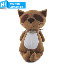 Custom Cute Working or Sitting Stuffed Plush Cat Toy