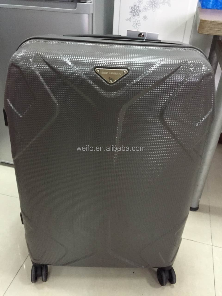 abs zipper travel luggage cabin carry on suitcase trolley