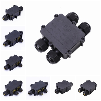 plastic ip68 waterproof connector junction box for landscape light