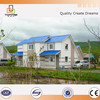 China supplier prefab steel fabrication frame villa