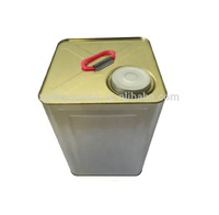 18 liter industrial square tin oil can