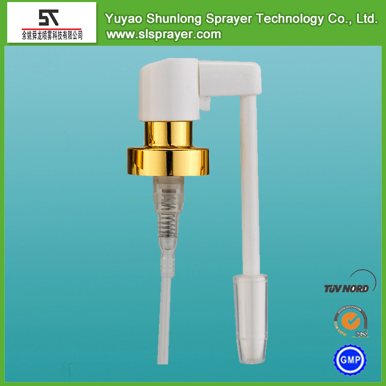 18/410 20/410 24/410 white oral sprayer with long nozzle and PS cap