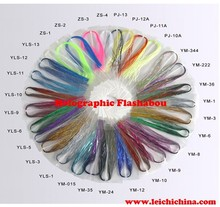 Wholesale yarn Holographic Flashabou fly tying supplies wholesale