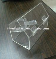 Mini Clear Acrylic Candy Hinged Box With Scoop (FD-A-0269)
