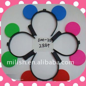 Party supplies Flashing LED Mickey Mouse ear headdress HH-0074