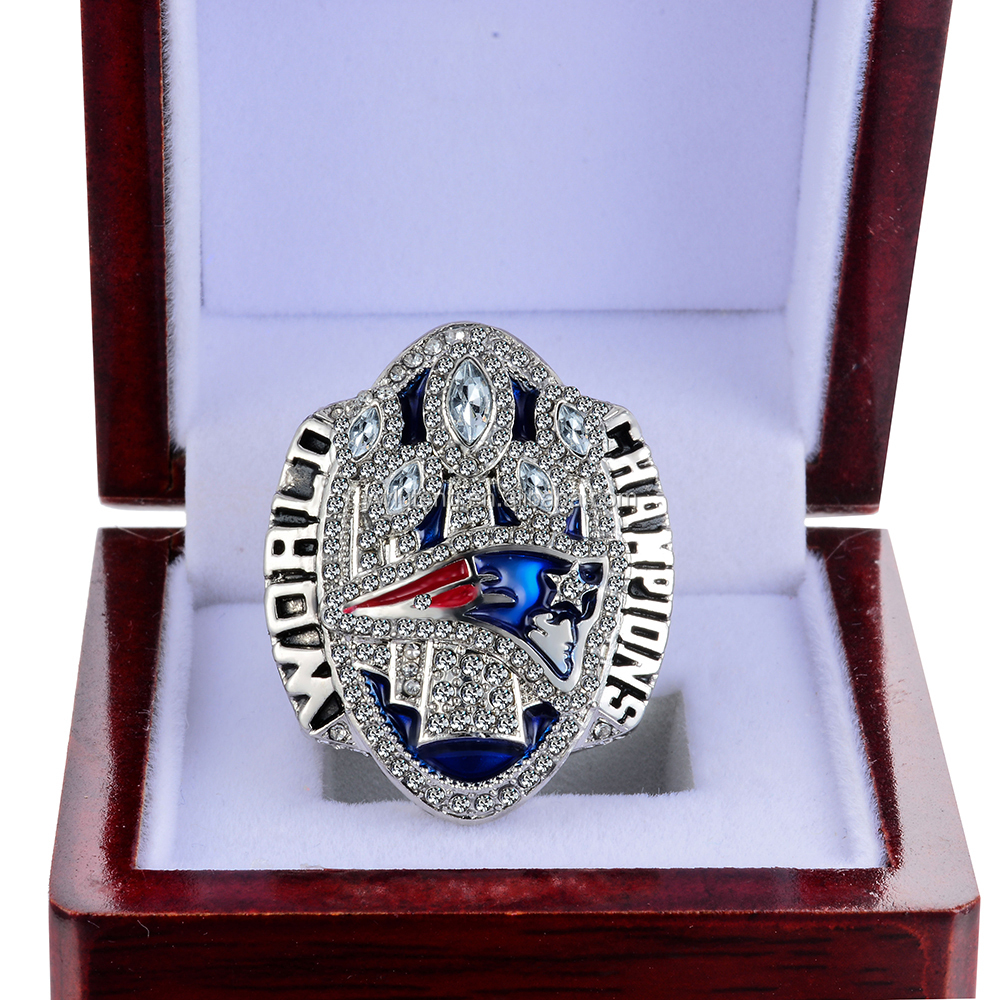 LT JEWELRY 2016 NEW ENGLAND PATRIOTS 5TH SUPER BOWL CHAMPIONSHIP REPLICA RING ALL SIZES AVAILABLE