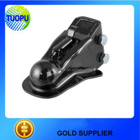 Black E-coating Finish Frame Trailer Hitch Ball Couplers For Manufacturer